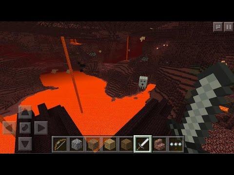 UPDATE Minecraft PE 0.11.0+ Nether in MCPE bestätigt!?