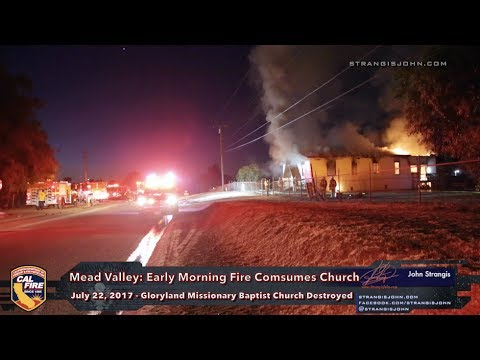 Mead Vally: Early Morning Fire Destroys Church