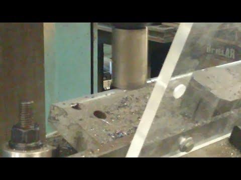 Milling Custom Log Splitter Blade Sajo VF300