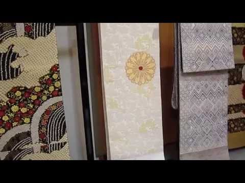 Weaving Nishijin Obi Making in Kyoto