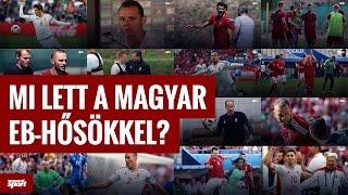 Mi lett a magyar Eb-hősökkel?