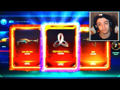 TREYARCH IS TROLLING ME 😱 - BLACK OPS 3 NEW DLC WEAPON SUPPLY DROP! (BO3 New DLC)