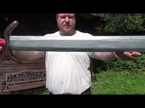How to Make a Larp Sword or Dagger