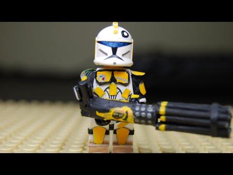 Custom Lego - Star Wars : Heavy Gunner Minifigure