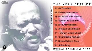 The Very Best of Nusrat Fateh Ali Khan | Audio Jukebox | Complete full Qawwalies | OSA Official