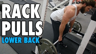 Rack Pulls | Lower Back | How-To Exercise Tutorial