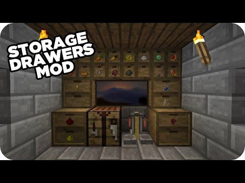 Schubladen in Minecraft! - Storage Drawers Mod [DE]