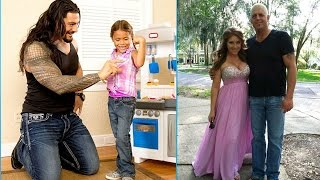 WWE SUPERSTARS AND THEIR CHILDREN
