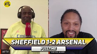 Sheffield Utd 1-2 Arsenal | Tierney Reminds Me Of Kenny Sansom! (Curtis)