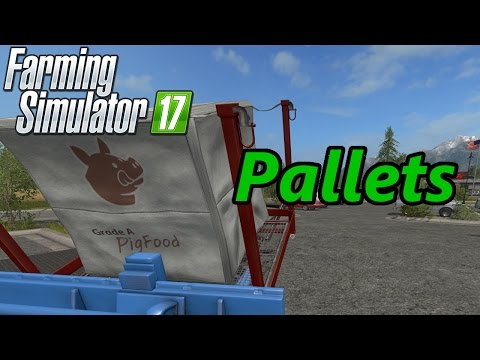 Farming Simulator 17 Tutorial | Pallets