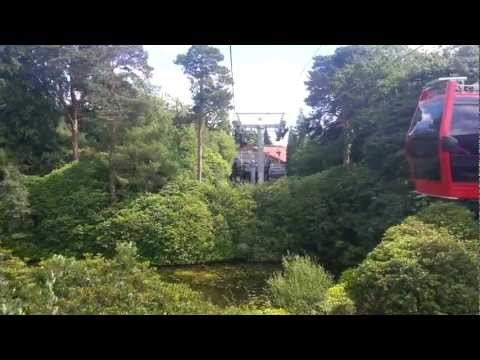Alton Towers Skyride 2012 HD
