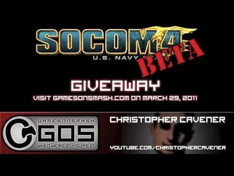Socom 4 Beta Codes Giveaway - March 29 - GamesOnSmash.com