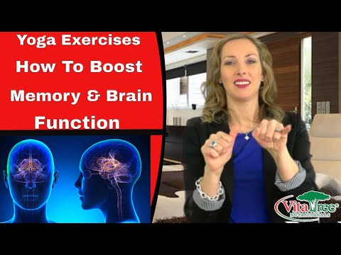 Yoga Exercises : How to Boost Memory Naturally : Retain Your Brain Functions - VitaLife Show 134