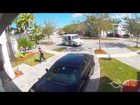Caught on Arlo: Package Thrower