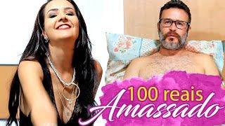100 REAIS AMASSADO