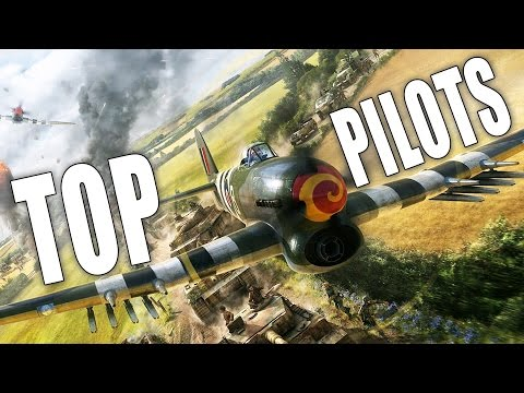 War Thunder Planes Gameplay | Top 10 Pilots in War Thunder Arcade Battles