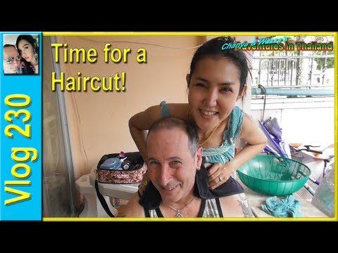 Time for a haircut! (เวลาสำหรับการตัดผม)