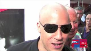 Vin Diesel @ the Los Bandoleros / Fast and Furious Dvd Event