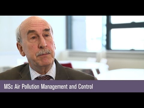 MSc Air Pollution Management and Control