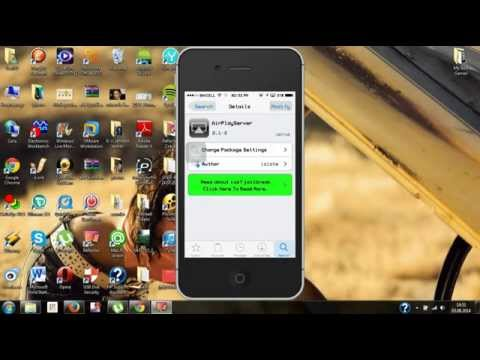 How to enable airplay with Jailbreak (iPhone, iPod touch, iPad)