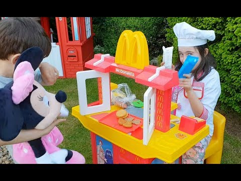 McDonald's  with Teletubbies and Minnie Mouse