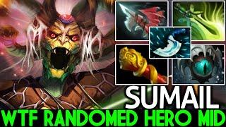 SUMAIL [Medusa] No Respect Randomed Hero Mid Try Hard Carry Game Dota 2