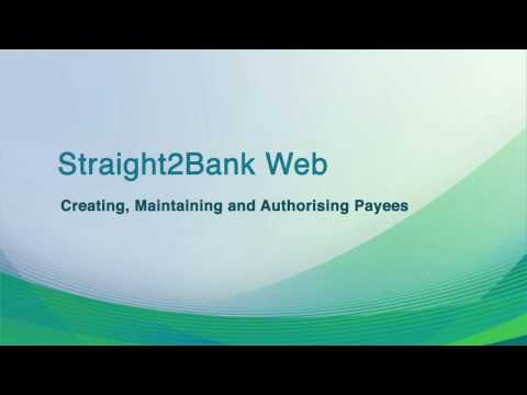 Cash: Payee creation and authorisation