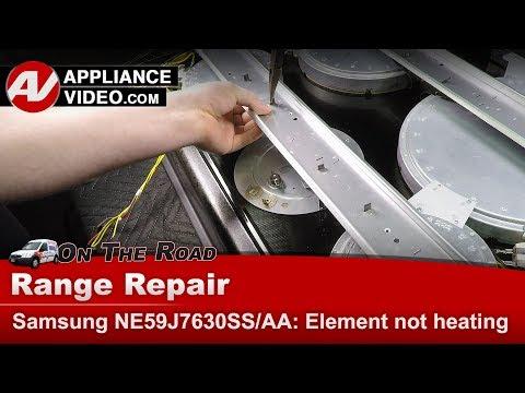 Samsung Range / Oven -  Warming Element not heating - Diagnostic & Repair
