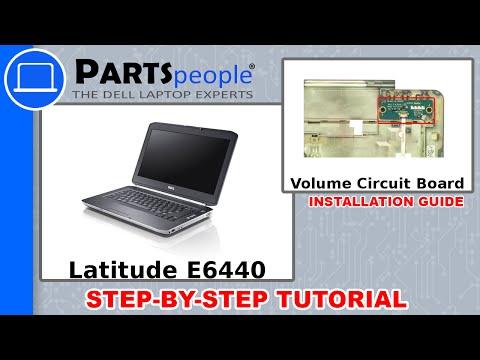 Dell Latitude E6440 Volume Control Circuit Board How-To Video Tutorial