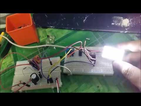 Music Flashing LED - Sound Activate LED / Reactive LED circuit