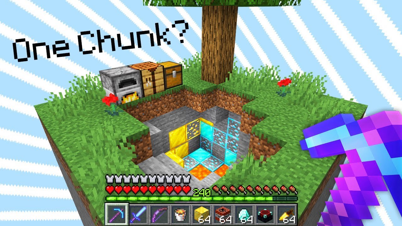 Minecraft, But You Only Get ONE Chunk...