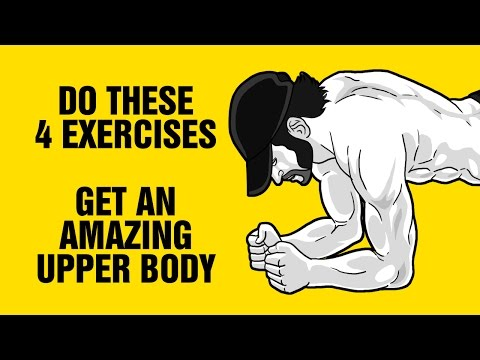 Build An Amazing Upper Body With This Push-Up Workout - Just 4 Exercises
