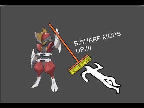 BISHARP THE BOSS! pokemon x and y wifi battles