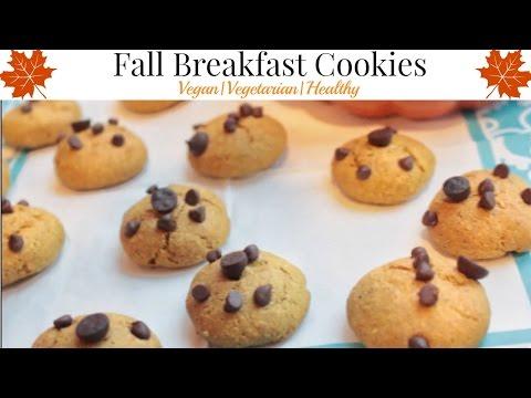 Fall Breakfast Cookies 2016   Pumpkin   Vegan   Vegetarian  Healthy   EASY & WORTH IT
