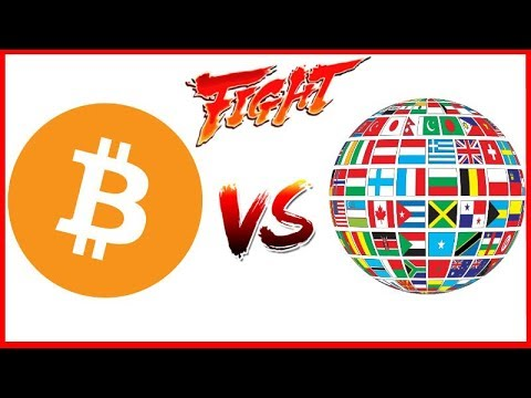 Scared of Bitcoin World Governments create their own Crypto - Will People Use Digital Fiat?