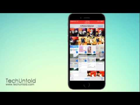 How to Email Multiple Photos/Videos(More Than 5) From iPhone/iPad