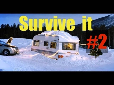 How to Survive Winter Living in a Camper Part 2 - Top things I learned during winter in camper ✔️