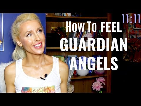 😇How To FEEL Your GUARDIAN ANGELS Around You😇