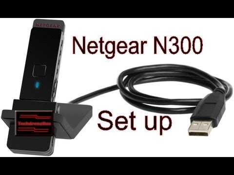 How to setup a wireless adapter including netgear n300