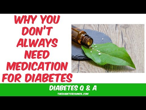 When Do You Not Need Medication For Diabetes?