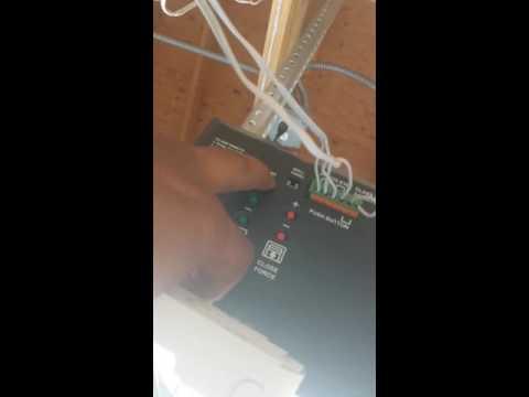 Guardian garage door opener keypad programming