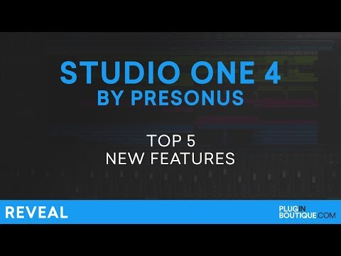 Presonus Studio One 4 | Review Of Top 5 New Features!