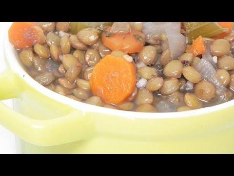 Easy Greek Lentil Soup Recipe