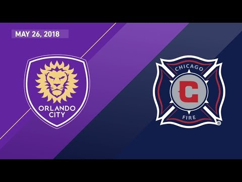 HIGHLIGHTS: Orlando City SC vs. Chicago Fire | May 26, 2018