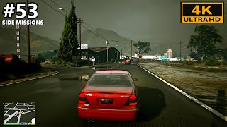 Grand Theft Auto 5 4K Gameplay Part 53 - Side Missions In Ultra Graphics - GTA 5 4K 60FPS PC