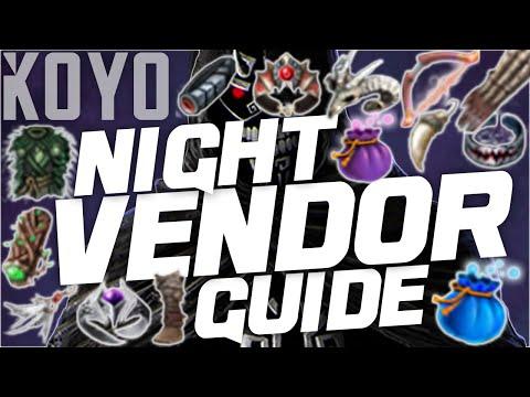 Black Desert Online | Night Vendor Guide
