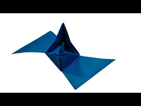 How To Make Origami Boat | How To Make Paper Boat Step By Step | Origami Boat Tutorial