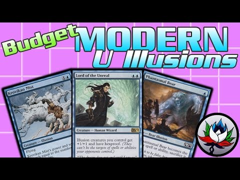 """MTG – Powerful """"Budget"""" Mono Blue Illusions Modern Deck Tech for Magic: The Gathering!"""