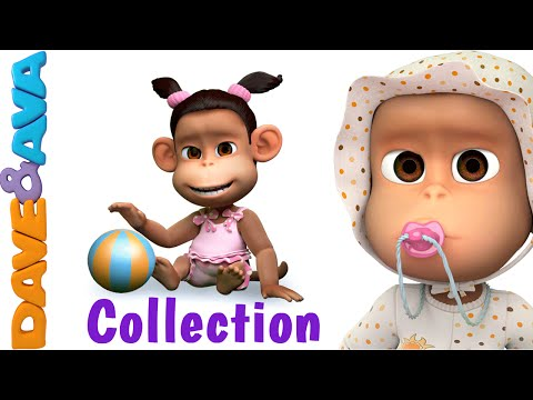 Ten in the Bed   Number Song   Nursery Rhymes and Baby Songs Collection from Dave and Ava