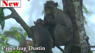 Million Pity! Poor orphan Dustin very cool, Good sister Piper deep hug Dustin instead mom is raining